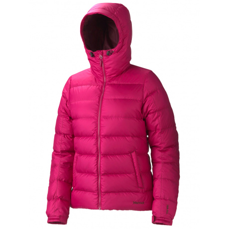 Куртка женская Marmot Wm's Guides Down Hoody | Dark Raspberry | Вид 1