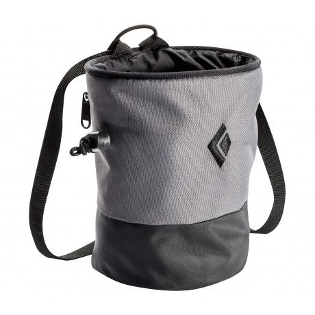 Мешочек для магнезии Black Diamond MOJO ZIP CHALK BAG | Ash | Вид 1