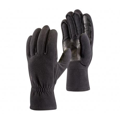 Перчатки Black Diamond MIDWGHT WINDBLOC FLEECE GLOVES | Black | Вид 1