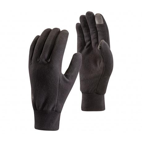 Перчатки Black Diamond LIGHTWEIGHT FLEECE GLOVES | Black | Вид 1