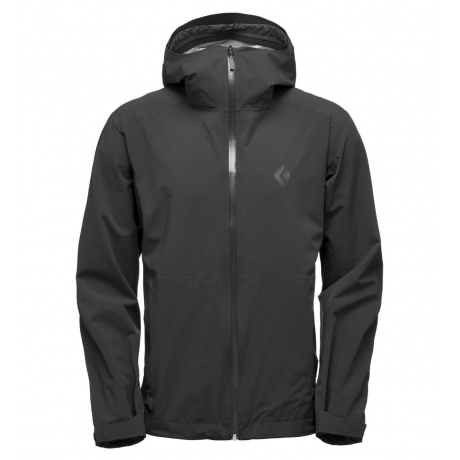 Куртка Black Diamond M Stormline Stretch Rain Shell | Black | Вид 1