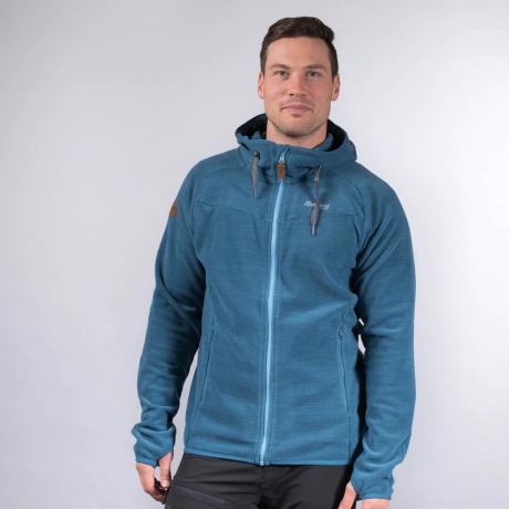 Куртка из флиса Bergans Hareid Fleece Jacket | Stone Blue Melange | Вид 1