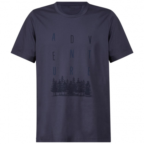 Футболка Bergans Adventure Tee | Night Blue/Dark Navy | Вид cпереди