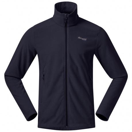Куртка из флиса Bergans Finnsnes Fleece Jacket | Dark Navy | Вид спереди