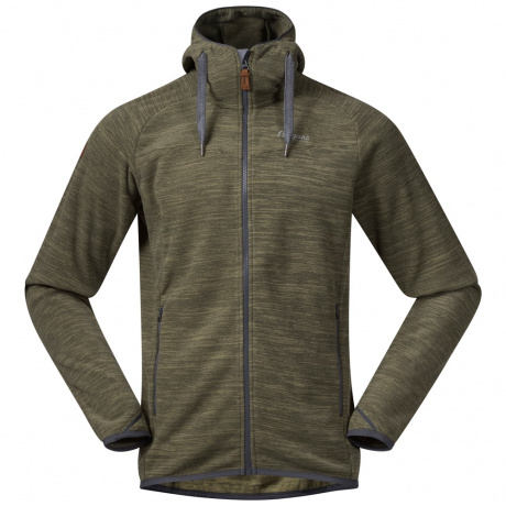 Куртка из флиса Bergans Hareid Fleece Jacket   Seaweed Melange   Вид 1