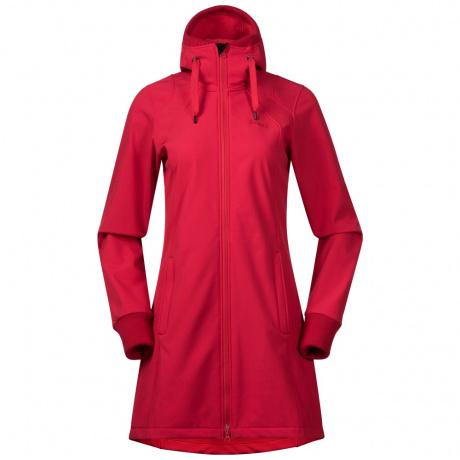 Куртка женская Bergans Vika Lady Coat | Strawberry | Вид спереди