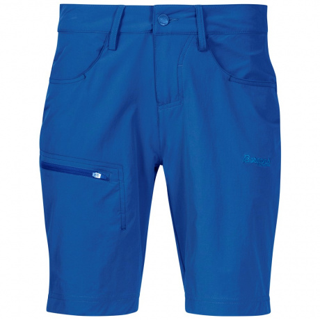 Шорты женские Bergans Moa W Shorts | Cloud Blue | Вид спереди