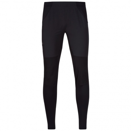 Брюки Bergans Fløyen Pants | Black/Solid Charcoal | Вид спереди