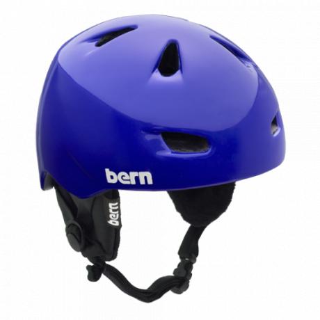 Горнолыжный шлем Bern детский Chico Zipmold | Gloss Blue | Вид 1
