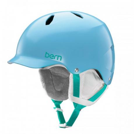 Горнолыжный шлем подростковый Bern Bandita | Satin Light Blue | Вид 1