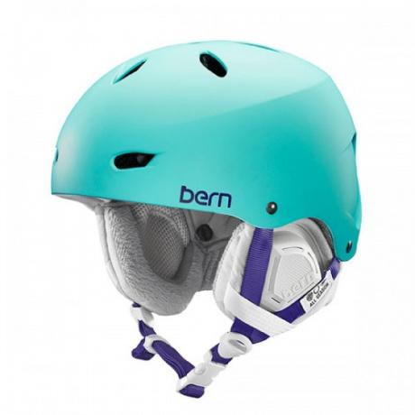 Горнолыжный шлем женский Bern Brighton | Satin Seafoam Green | Вид 1