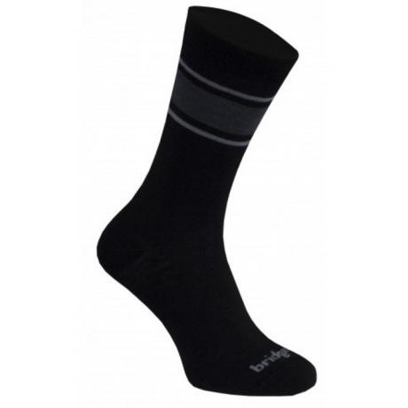 Носки Bridgedale Merino Sock/Liner | Black/Lt.Grey | Вид 1
