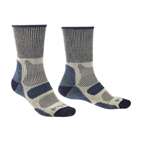 Носки мужские Bridgedale Hike Lightweight Coolmax Comfort Boot Original | Indigo Marl | Вид 1