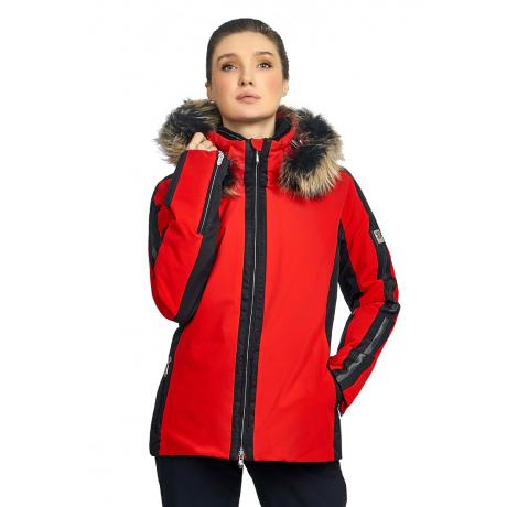 Куртка женская Descente GIANNA | Electric Red | Вид спереди