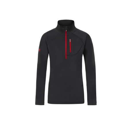 Пуловер детский Descente EVAN | Black/Electric Red | Вид 1