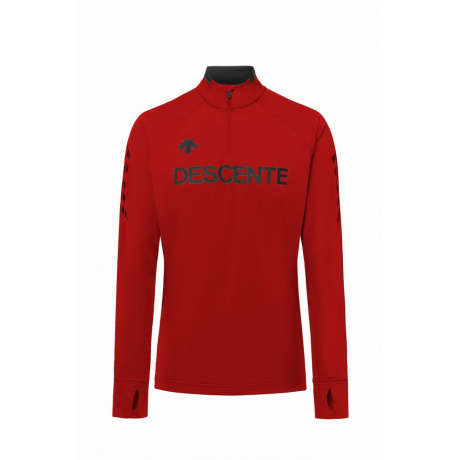 Пуловер DESCENTE 1/4 ZIP | Electric Red | Вид 1