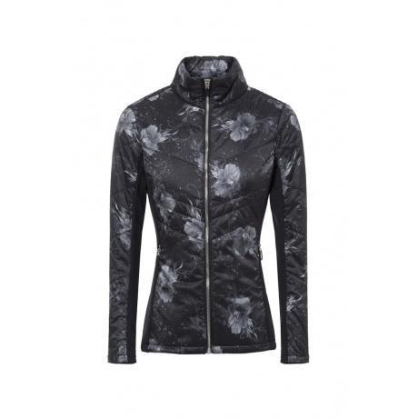 Куртка женская Descente LYNCA | Black Floral Print | Вид 1