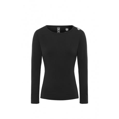 Термобелье женское Descente WOMEN'S BASE LAYER TOP | Black | Вид 1