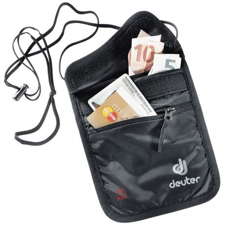 Кошелек Deuter Security Wallet II Rfid Block   Black   Вид 1