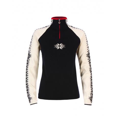 Пуловер женский Dale of Norway Geilo Feminine | Navy/Off white | Вид 1