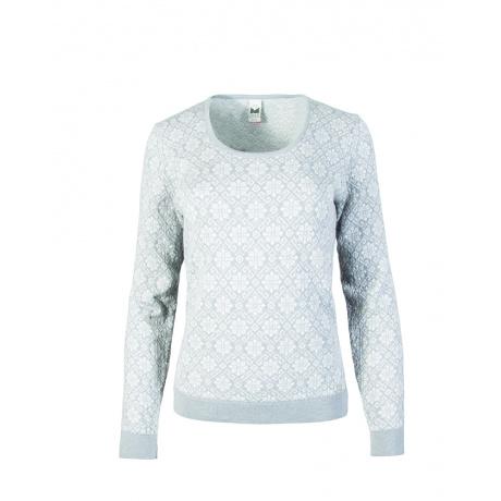 Свитер женский Dale of Norway Sonja Feminine sweater | Off white | Вид 1