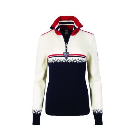 Пуловер женский Dale of Norway Lahti feminine sweater | Navy | Вид 1