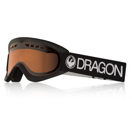Маска Dragon DX   Black   Вид 3