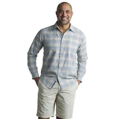 Рубашка Exofficio M BA Poros Plaid LS | Corsair | Вид 1