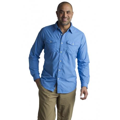 Рубашка Exofficio M BA Chios LS | Silverlake | Вид 1