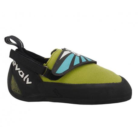 Скальные туфли детские Evolv Venga Kid's | Lime Green | Вид 1