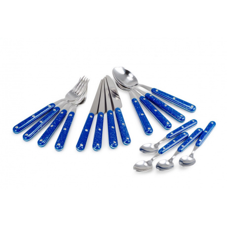 Набор стол. приборов GSI Pioneer Cutlery   Blue   Вид 1