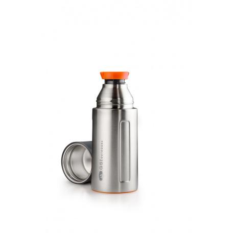 Термос GSI Vacuum Bottle 0.5 L | Stainless | Вид 1