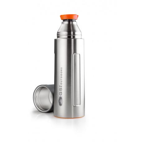 Термос GSI Vacuum Bottle 1 L | Stainless | Вид 1