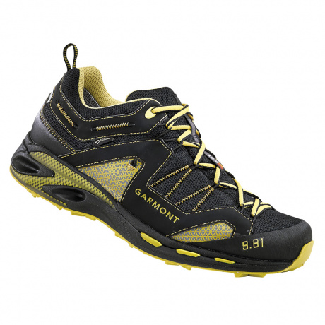 Кроссовки Garmont  9.81 Trail Pro III GTX | Black/Dark Yellow | Вид 1