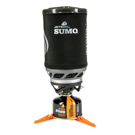 Комплект горелка с кастрюлей Jetboil Sumo, Carbon, 1.8л | Вид 1