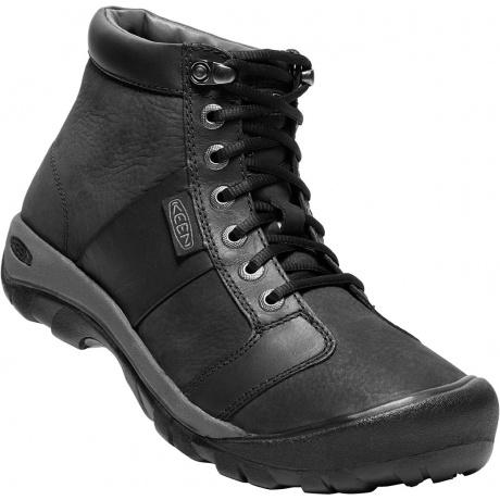 Ботинки KEEN Austin Mid WP M | Black | Вид 1