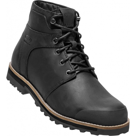 Ботинки KEEN The Rocker WP M | Black/Black | Вид 1