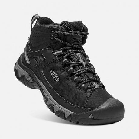 Ботинки KEEN Targhee Exp Mid WP M | Black/Steel Gray | Вид 1
