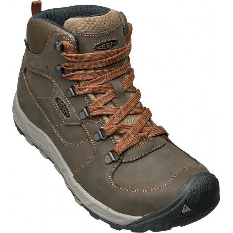 Ботинки Westward Mid Leather WP M | Dark Olive/Rust | Вид 1