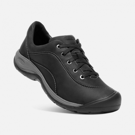 Кроссовки женские KEEN Presidio II W | Black/Steel Grey | Вид 1