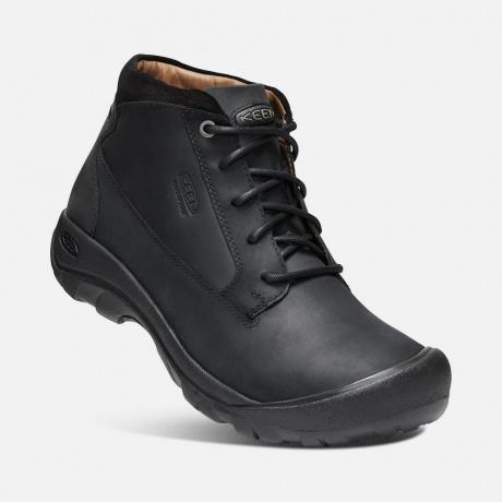 Ботинки KEEN Austin Casual Boot WP M | Black | Вид 1