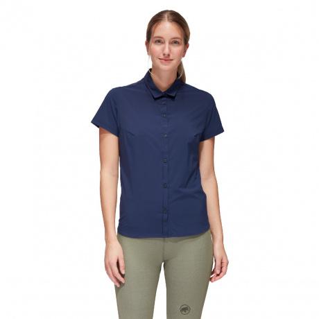 Рубашка женская Mammut Trovat Light Shirt Women | Peacoat | Вид 1