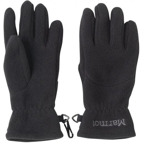 Перчатки детские Marmot Kid's Fleece Glove | Black | Вид 1