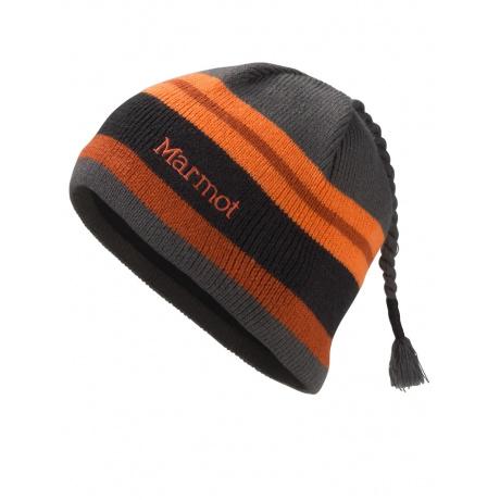 Шапка детская Marmot Boy'S Striper Hat | Slate Grey | Вид 1