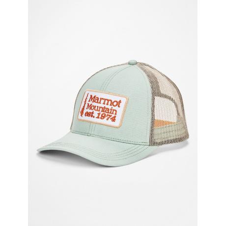 Кепка Marmot Retro Trucker Hat | Crushed Mint | Вид 1
