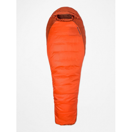 Спальник Marmot Trestles 0   Orange Haze/Dark Rust   Вид 1