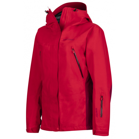 Куртка женская Marmot Wm's Spire Jacket | Tomato/Red Dahlia | Вид 1