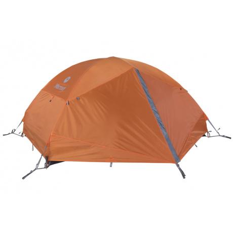Палатка Marmot Fortress 2P | Tangelo/Grey Storm | Вид 1