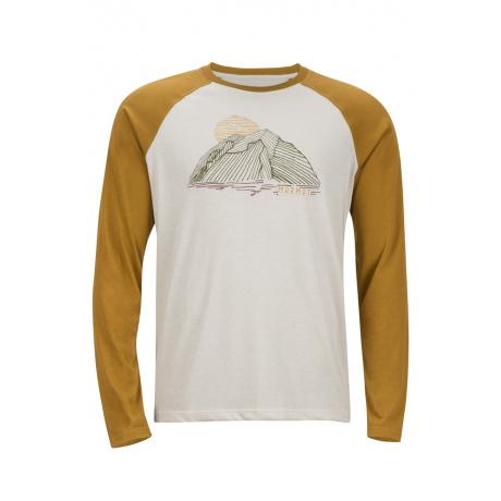 Футболка Marmot Owens LS | Oatmeal/Dirty Gold | Вид 1