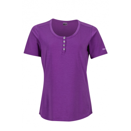 Футболка женская Marmot Wm's Kayla SS | Bright Violet | Вид 1